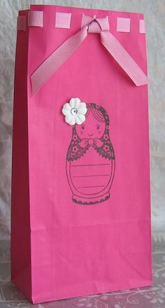 Babushka Birthday Party Candy Favor Bags by BenandJess on Etsy, $18.00...grandma nay could make these :)