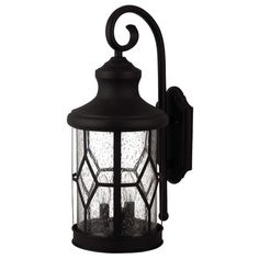 Canarm Atlanta 3 Light Outdoor Wall Lantern & Reviews | Wayfair