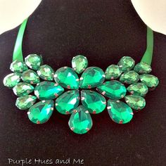DIY Statement Necklace to Wear on St Paddy's Day