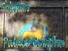 Shams-ol-Emaneh (Edifice of the Sun) is the most stunning structures of the Golestan Palace. The idea of building a tall structure came to Nasser-ol-Din Shah before his first European and from pictorial images of European buildings. The Monarch wanted a structure from which he could have panoramic views of the city. Pahlavi Dynasty, Marble Carving, Persian Garden, Tehran, European Travel, Palace, Presentation, Royal Residence, Neon Signs