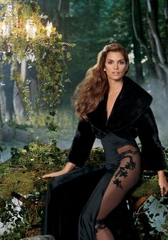 Legends Gallery | BLACKGLAMA... The one and only Cindy Crawford.