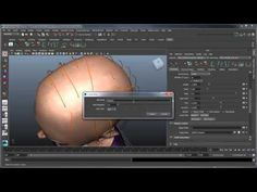 ▶ Creating XGen hair - Part 3: Long hair with region maps and modifiers - YouTube