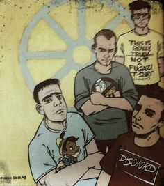 Fugazi. One of the best punk bands in the fine history of punk rock.