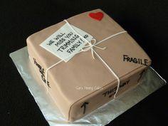 Moving Box cake