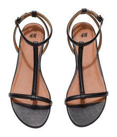 Sandali con listino a T - available black 98688c2beea