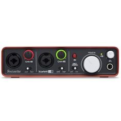 Focusrite Scarlett Usb Computer Audio Interface, B - CeX (UK): - Buy, Sell, Donate Digital Audio, Nintendo Wii Controller, Usb, Music Production, January 2016, December, Musical Instruments, Studio, Amazon