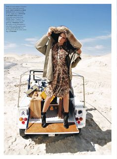 Smile: Tamara Slijkhuis for Air France Madame October 2014 by Martin Lidell
