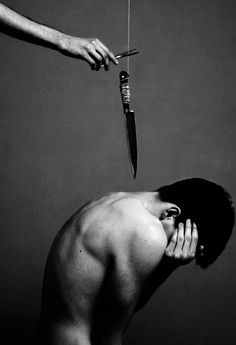 """""""Cause these words are knives and often leave scars, the fear of falling apart."""""""