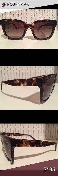 MCM Sunglasses- MCM610S Authentic MCM Sunglasses- MCM610S in Tortoise. Case and cloth included. MCM Accessories Sunglasses