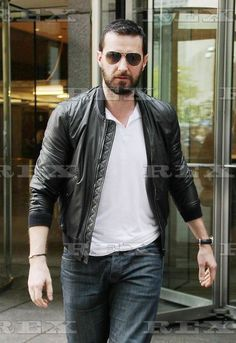 2 August 2014 in NYC  Richard Armitage's second Burberry look of the day for his Into the Storm press - styled by yours truly, ilaria urbinati