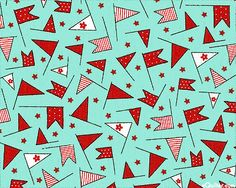 Wishes - Celebration Flags - Quilt Fabrics from www.eQuilter.com