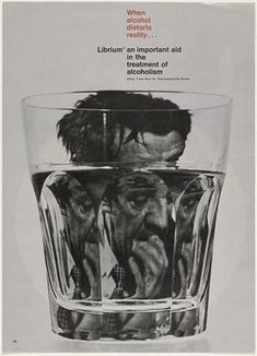 Rolf Harder — When Alcohol Distorts Reality, Poster (1963)