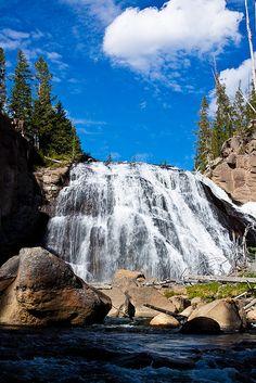 Gibbon Falls, Yellowstone National Park; photo by Jerry Mercier