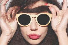 Sunboo Sunglasses are hand-made and crafted using high-quality materials like light bamboo and dark wood. Now these bamboo shades are at FINAEST. Bamboo Shades, Designer Shades, Wooden Sunglasses, Sunnies, Bamboo Shop, Summer 2014, Spring Summer, Eyewear, Women Wear