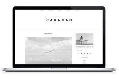 Responsive WP Theme - Caravan by Light Morango on Creative Market