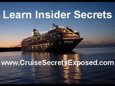 www.cruisejournal.de #Cruisetipp #Kreuzfahrt #Cruise  Cruise Ship- Secret Saving Tips
