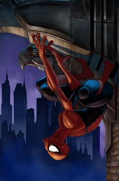 #Spiderman #Fan #Art. (Spiderman Cover) By: Moseisly. (THE * 5 * STAR * AWARD * OF * ÅWESOMENESS!!!™)