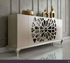 Macral Design. Dining room. - modern - buffets and sideboards