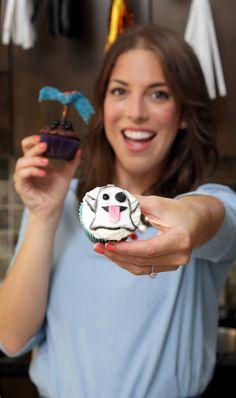 Halloween Cupcakes 101 / Beginner's Cake Decorating Class w. @ephraner