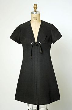 Marc Bohan for House of Dior dress, 1969