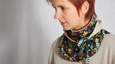 SCHLEIFENschal •Schal • kostenlos Schnittnuster + Nähanleitung • leni pepunkt • freebie • free sewing pattern • bow scarf