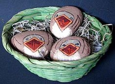 Hungry Painted Rock Birds, via Flickr.