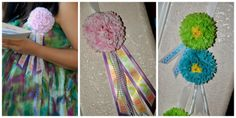 DIY in 123: Baby Shower corsage for Mother to be and guest