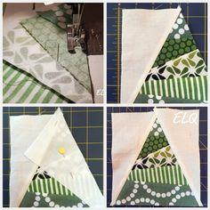 Ellison Lane Quilts: Christmas Tree Block Tutorial