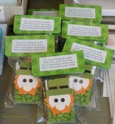 ~ Baahaahaa.. Leprechaun poop.. Green Tic-Tacs. B/C they all got away. A must do. *