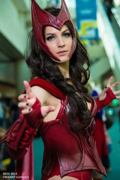Scarlet Witch #Cosplay - #SDCC San Diego Comic Con 2014 Day 3