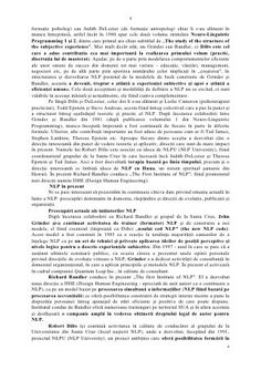 31989034 dezvoltare-personala-prin-tehnici-nlp-93-pag Milton Erickson, Virginia Satir, Experiential