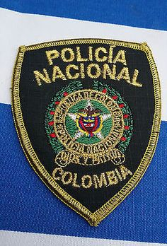 COLOMBIA-POLICIA-NACIONAL-Patch