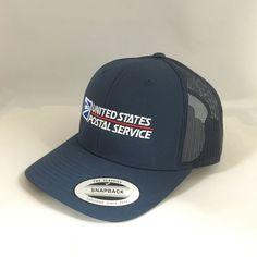 USPS Snapback Cap United States Postal Service Classic Trucker Hat Yupoong  Navy  fashion  clothing 672f127d1de8