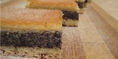 Recepti i Ideje: Mak kocke - ovim receptom će biti svi oduševljeni ! Kolaci I Torte, High Sugar, Croatian Recipes, Coffee Cake, Truffles, Cornbread, Food To Make, Sushi, Bakery