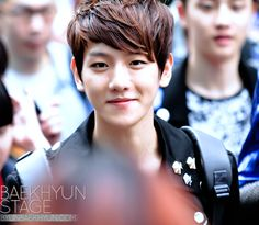 12.06.15 On the way to Music Bank (Cr: baekhyun stage: byunbaekhyun.com)