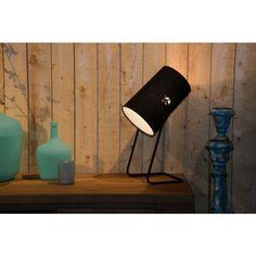 Lucide - Bost Tafellamp - Zwart