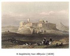 Simple Minds, Acropolis, Athens, Monument Valley, Nature, Travel, Painting, Naturaleza, Viajes