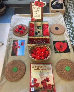No photo description available. Kindergarten Art Activities, Full Day Kindergarten, Kindergarten Freebies, Remembrance Day Activities, Remembrance Day Art, Veterans Day Poppy, Religion Activities, Art For Kids, Crafts For Kids
