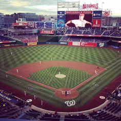 nationals baseball stadium. dc. #johneckstine