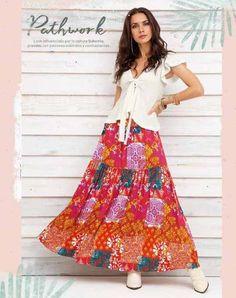 Ropa al por Mayor - Ventas online Waist Skirt, High Waisted Skirt, Summer Dress Outfits, Boutique, Floral, Skirts, Fashion, Vestidos, High Skirts