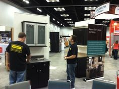 At the Do It Best Show 2012! Work Hard, Stuff To Do, Cabinets, Broadway Shows, Closets, Working Hard, Kitchen Base Cabinets, Dressers, Cupboard