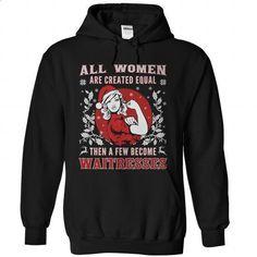Waitress Christmas Shirt - #short sleeve shirts #best hoodies. ORDER NOW => https://www.sunfrog.com/Holidays/Waitress-Christmas-Shirt-Black-Hoodie.html?60505