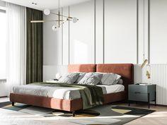 Modern Classic Bedroom, Modern Classic Interior, Master Bedroom Interior, Home Bedroom, Bedroom Decor, Hotel Bedroom Design, Kids Bedroom, 3d Max Vray, Suites