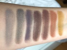 Shiro Cosmetics Into the Unknown eyeshadows x7   Beauty Loon