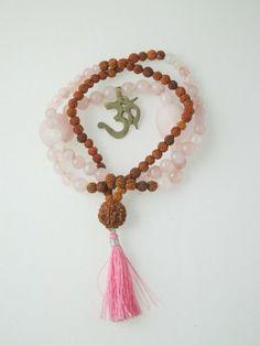 Energy Yoga Mala Rose Quartz Crystal Rudraksha Crown Chakra ~ Wisdom Mogul Interior,http://www.amazon.com/dp/B00F9S4UNQ/ref=cm_sw_r_pi_dp_4yqVsb1E65G2A269