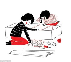 For many couples trying to decipher Ikea flatpack instructions together is a form of bondi...