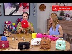 Fıstık model sırt çantası yapımı - YouTube