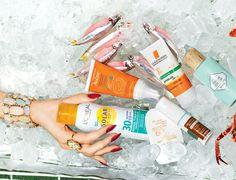 Solar Expertise aerosol toque seco FPS 30, R$ 46, L'Oréal 2 Cleanance Solar FPS 30, R$ 60, Avène 3 Gel creme protetor facial FPS 60, R$ 38, Natura 4 Anthelios Airlicium FPS 30, R$ 67, La Roche-Posay 5 Super Stick Solaire FPS 30, R$ 499, Sisley 6 Dream Screen FPS 45, R$ 160, Benefit (Foto: Marcel Valvassori)