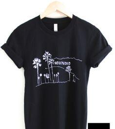 Hollywood Black T Shirt - Freshtops Marketplace