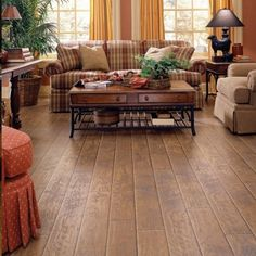 Hickory laminate flooring